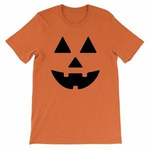 Jako Halloween Pumpkin Orange Shirt